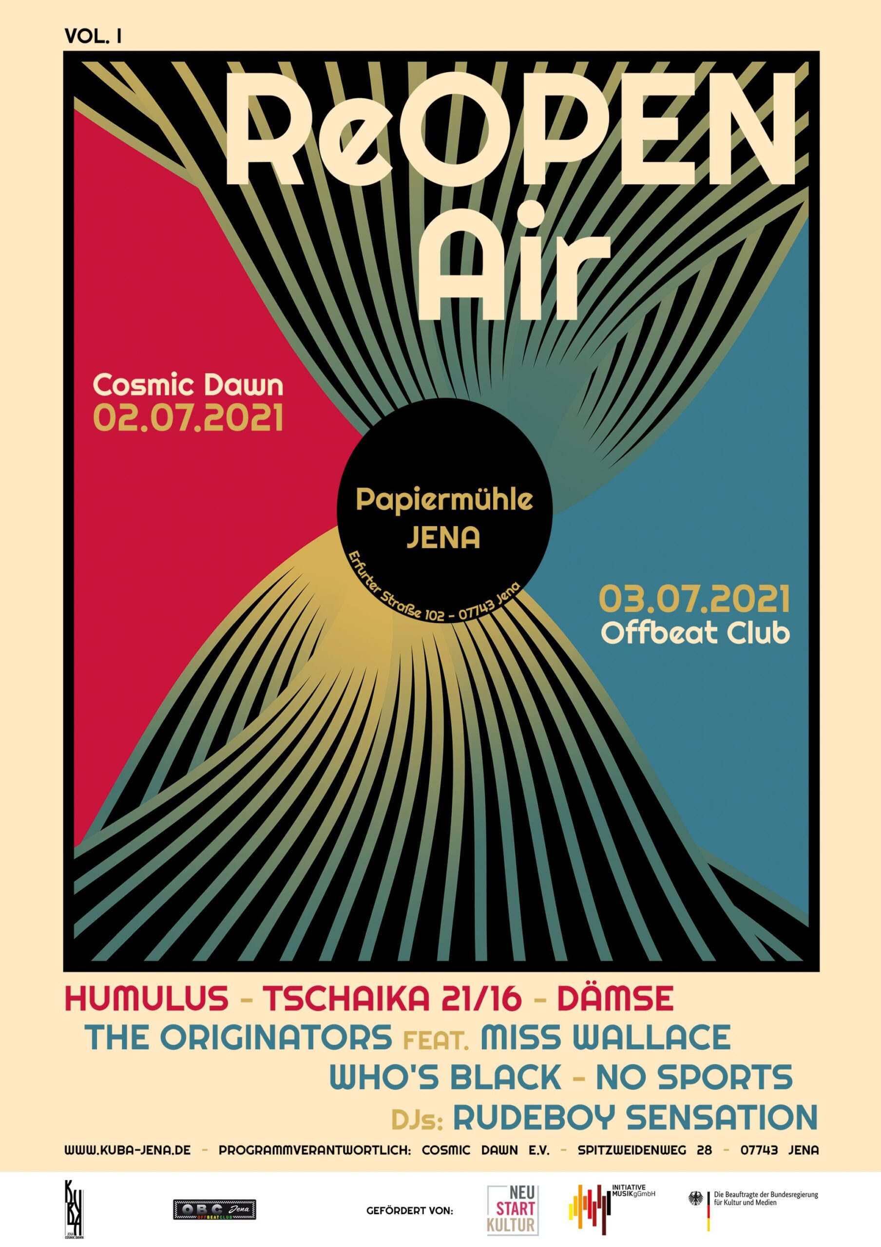 Offbeat Club Jena, Cosmic Dawn