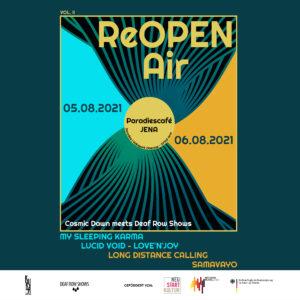 ReOpen Air Vol. II Jena_05.08. - 06.08.2121